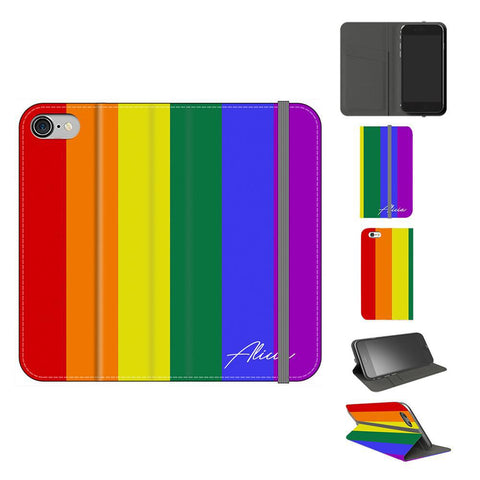 Personalised Pride initials iPhone 7 Case