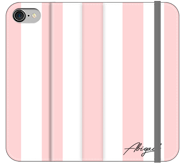 Personalised Bloom Stripe iPhone 7 Case