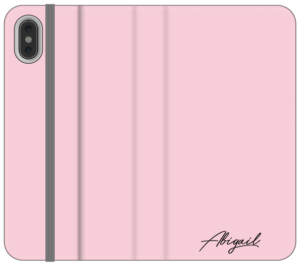 Personalised Groovy Text iPhone XS Case