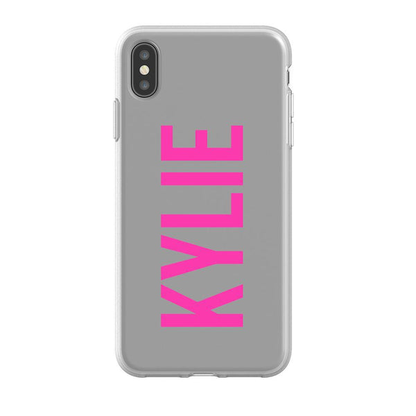 Personalised Name iPhone XS Max Flex Case