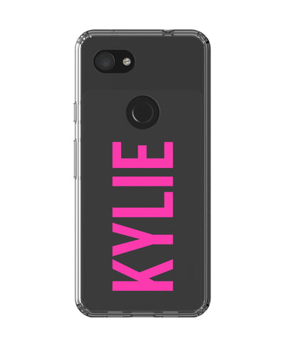 Personalised Name Google Pixel 3a Case
