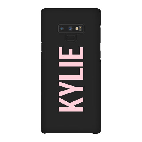 Personalised Name Samsung Galaxy Note 9 Case