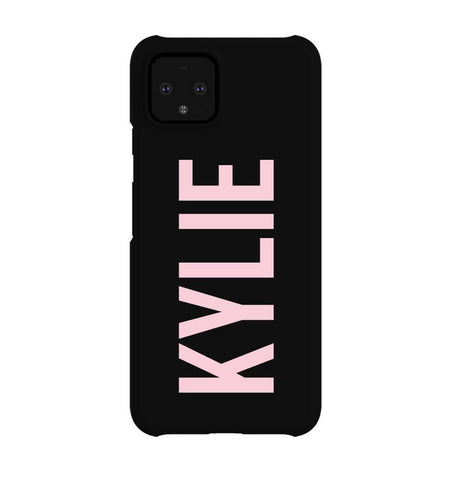 Personalised Name Google Pixel 4 Case