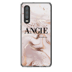 Personalised Liquid Marble Name Huawei P30 Case