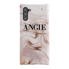 Personalised Liquid Marble Name Samsung Galaxy Note 10 Case