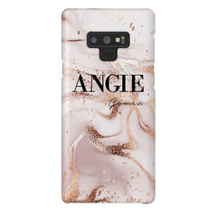Personalised Liquid Marble Name Samsung Galaxy Note 9 Case