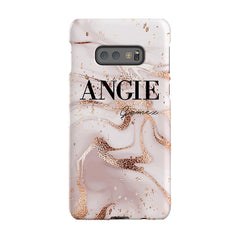 Personalised Liquid Marble Name Samsung Galaxy S10e Case