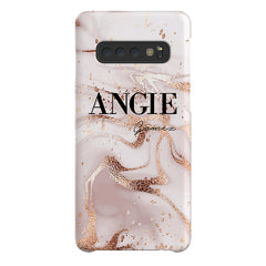 Personalised Liquid Marble Name Samsung Galaxy S10 Case