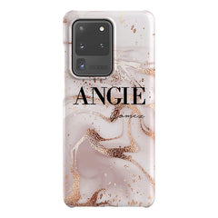 Personalised Liquid Marble Name Samsung Galaxy S20 Ultra Case