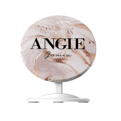 Personalised Liquid Marble Name Wireless Charger