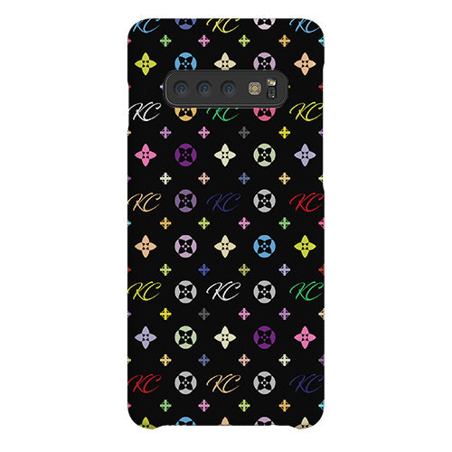 Personalised Monogram Samsung Galaxy S10 Case Live X Maintain