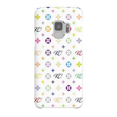 Personalised Monogram Samsung Galaxy S9 Case