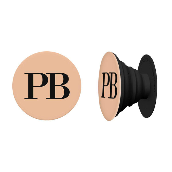 Personalised Nude Initials PopSocket