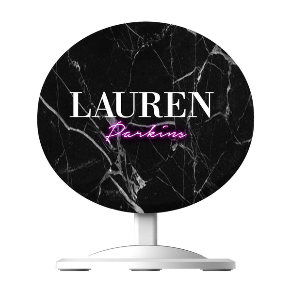 Personalised Neon Name Wireless Charger