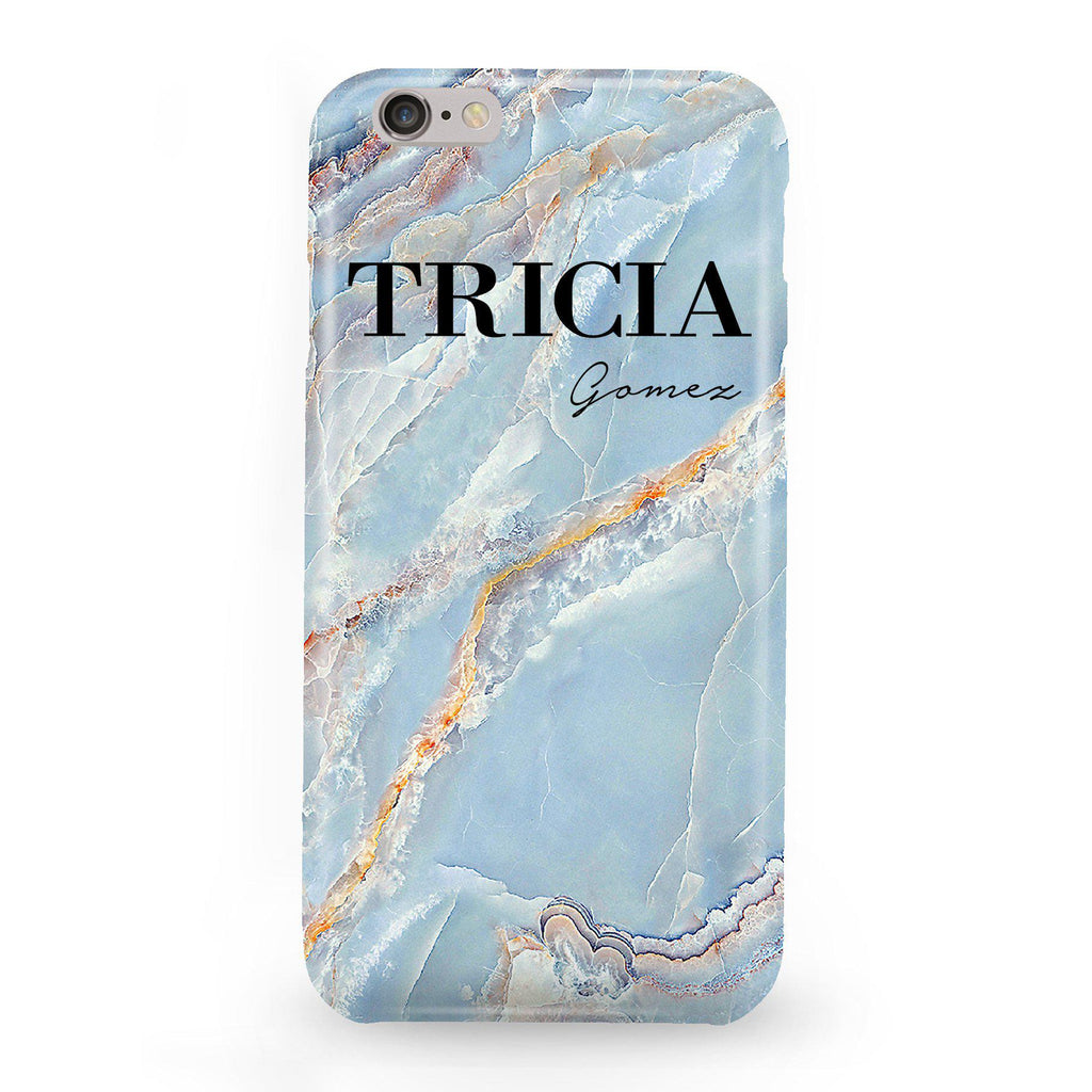 Personalised Ocean Marble Name iPhone 6 Plus 6s Plus Case - LIVE x MAINTAIN 90facf7a0