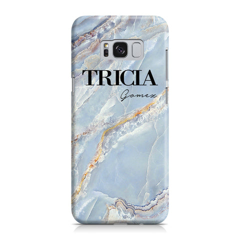 Personalised Ocean Marble Name Samsung Galaxy S8 Case