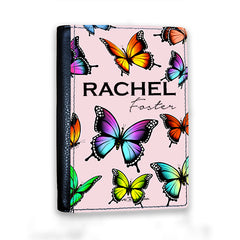 Personalised Butterfly Name Passport Cover