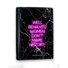 Personalised Well Behaved Women Passport Cover