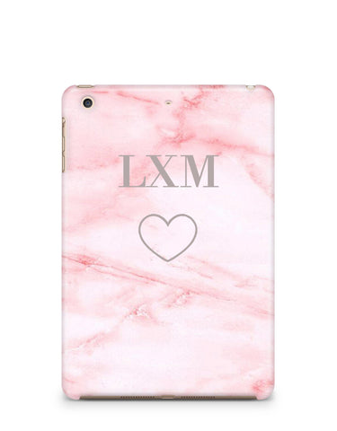 Personalised Cotton Candy Heart iPad Case