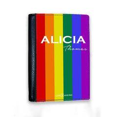 Personalised Pride Passport Cover