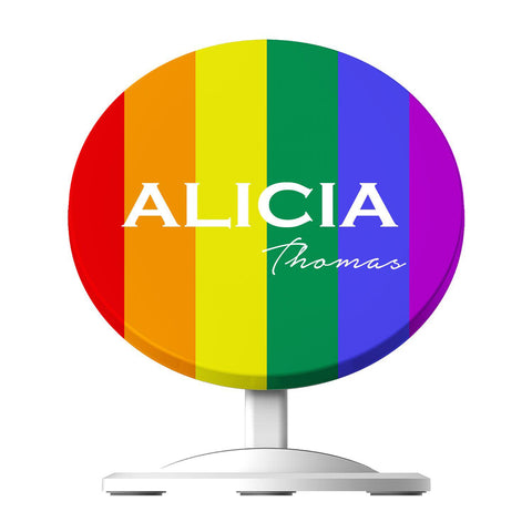 Personalised Pride Wireless Charger