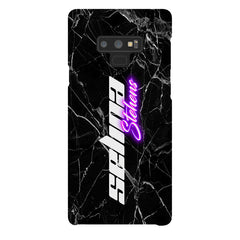 Personalised Neon Side Name Samsung Galaxy Note 9 Case