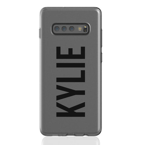 Personalised Name Samsung Galaxy S10 Plus Flex Case