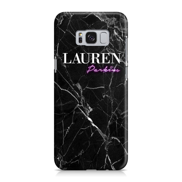 Personalised Neon Name Samsung Galaxy S8 Plus Case