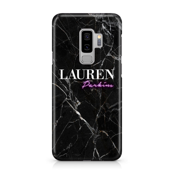 Personalised Neon Name Samsung Galaxy S9 Case