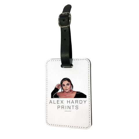 Alex Hardy Prints Luggage Tag