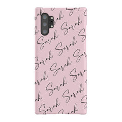 Personalised Script Name All Over Samsung Galaxy Note 10+ Case