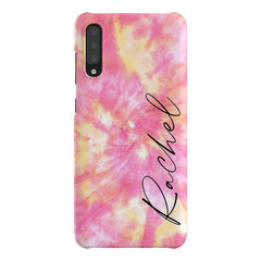 Personalised Tie Dye Name Samsung Galaxy A70 Case