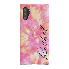 Personalised Tie Dye Name Samsung Galaxy Note 10+ Case