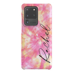 Personalised Tie Dye Name Samsung Galaxy S20 Ultra Case