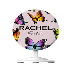 Personalised Butterfly Name WIreless Charger