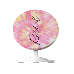 Personalised Tie Dye Name Wireless Charger