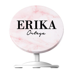Personalised Cotton Candy Marble Name Wireless Charger