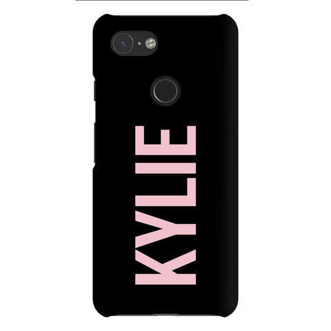 Personalised Name Google Pixel 3 Case