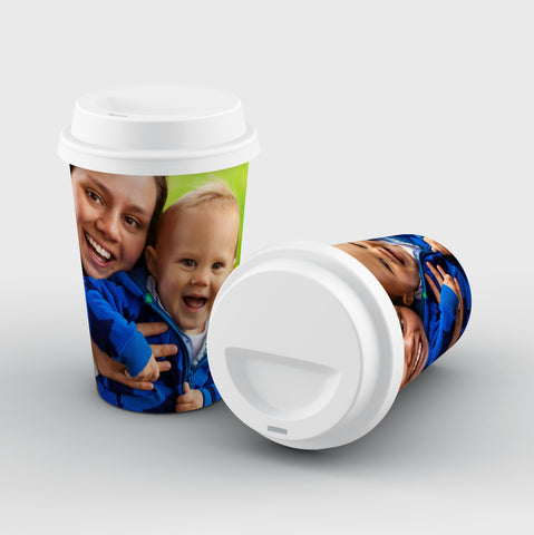 Upload Your Photo Reusable Coffee Cup