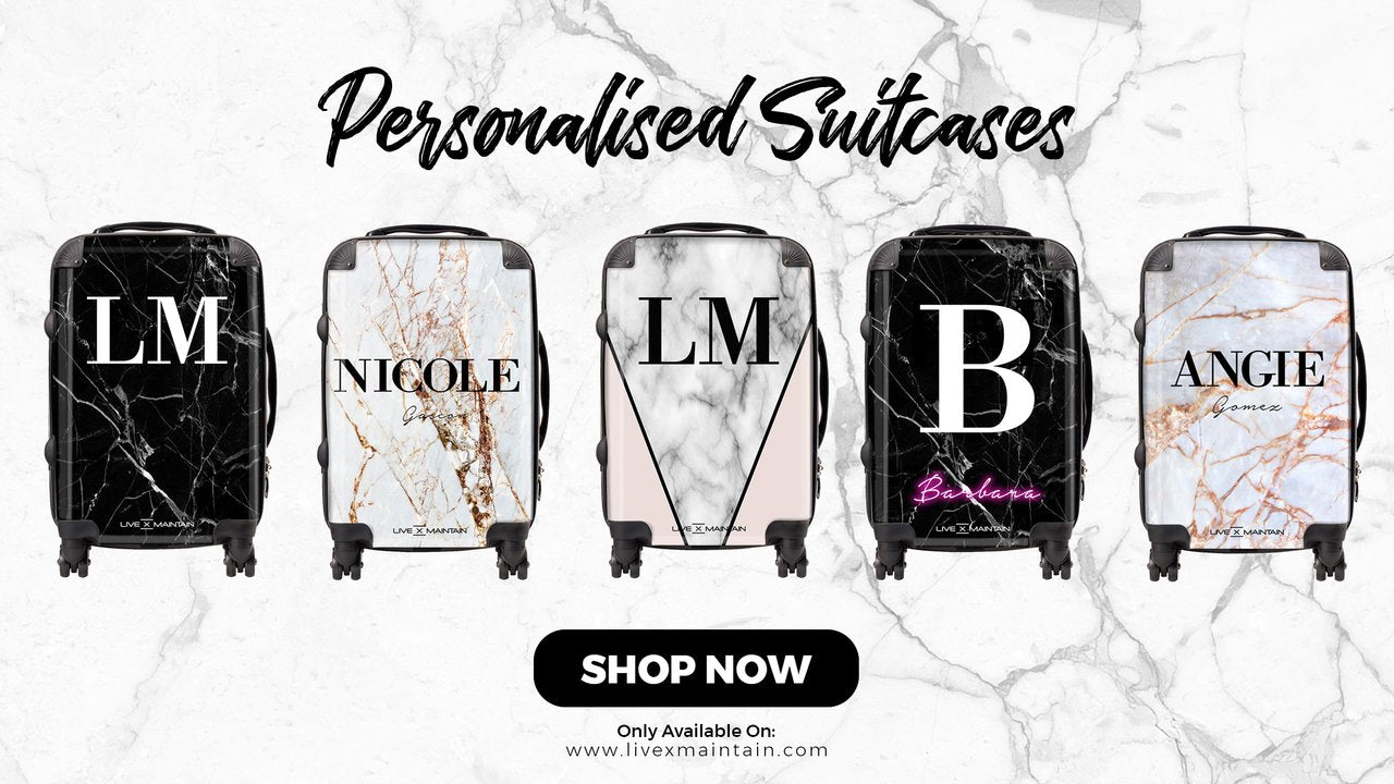 Personalised suitcase collection