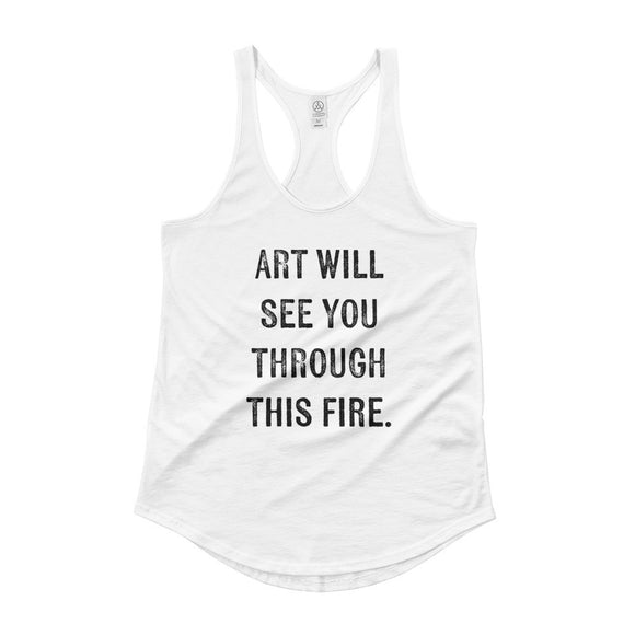 Art Will See You Through - Ladies' Tank Top (Limited Ed.)