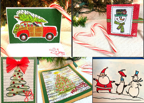 Make Your Own Christmas Card Class