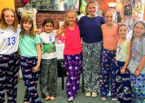 Kids Sew Pajama Bottoms