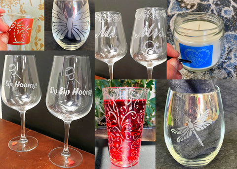 Glass Etching Classes