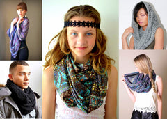 infinity scarves, cowls