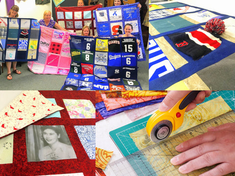 Memory Quilts and T-shirt Quilts