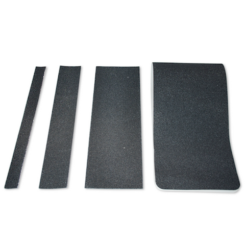 T.R.U. NST-B Black Non-Skid Strip Tape 60 Grit Anti Slip Traction Tape 32 Mil No Slip Strip