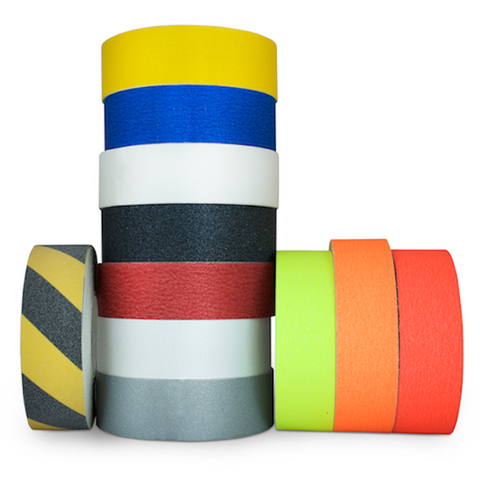 T.R.U. NST-20 Non-Skid Tape 60 ft. length Safety Way 60 Grit Anti Slip Traction Tape 32 Mil No Slip