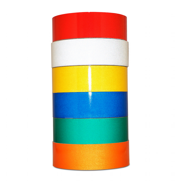 T.R.U. REF-7 Color Engineering Grade Reflective Tape: 30 ft. length