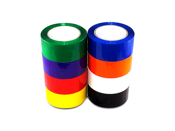 T.R.U. OPP-20C Carton Sealing Packaging Tape (2 mils thick) 9 Colors Available